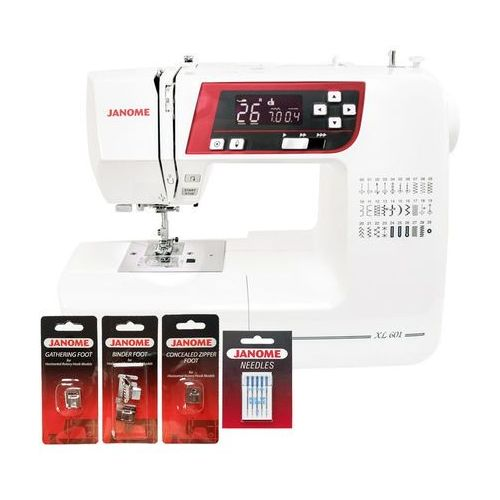 Maszyna do szycia  xl601 (dodatkowe i stopki igły gratis) marki Janome