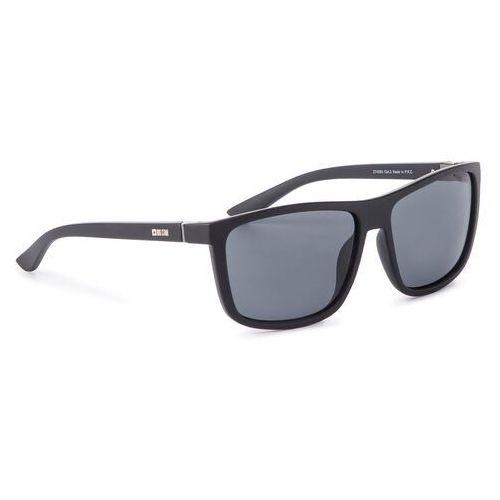 Big star Okulary przeciwsłoneczne - z74060 black/black