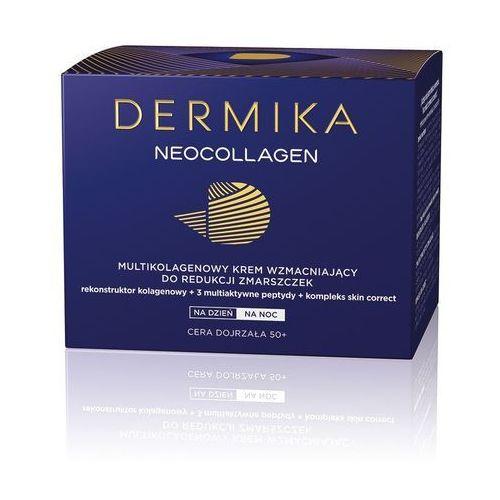Dermika neocollagen, 50+ 50 ml. multikolagenowy krem wzmacniający do redukcji zmarszczek - cederroth darmowa dostawa kiosk ruchu (5902046630102)