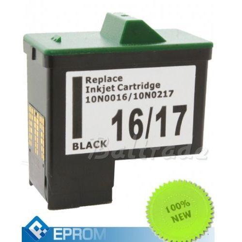 Tusz lexmark nr 16/17 black 20 ml (10n0016e/10nx217e) wyprodukowany przez Eprom