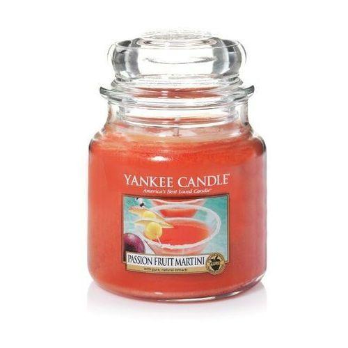 Yankee candle passion fruit martini świeczka zapachowa 411 g unisex (5038580080704)
