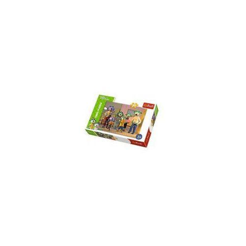 Trefl Puzzle 30 elementów rodzina ików, wesoły dzień - poznań, hiperszybka wysyłka od 5,99zł!