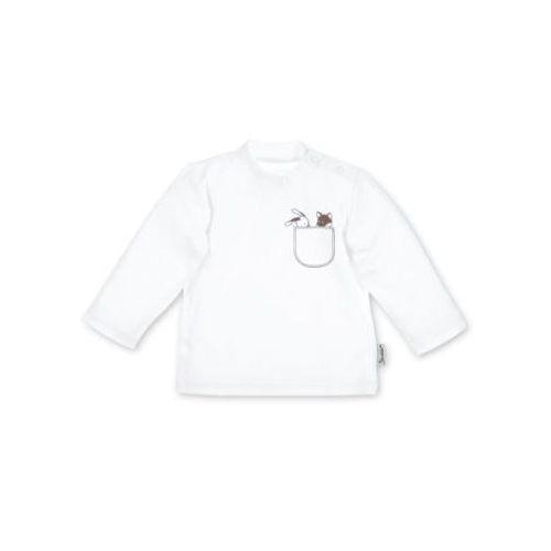 Sterntaler Koszulka z długim rękawem jersey Waldis, kolor biały