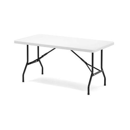 Aj produkty Stół klara, składany, 1530x760x745 mm, biały, czarny