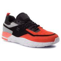 Sneakersy DC - E.Tribeka Se ADYS700142 Black/Orange (Bo1), kolor wielokolorowy