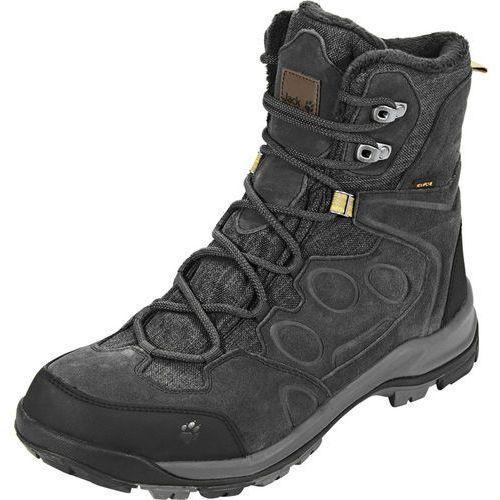 thunder bay texapore buty mężczyźni szary/czarny uk 8,5 |eu 42,5 2018 kozaki sportowe marki Jack wolfskin