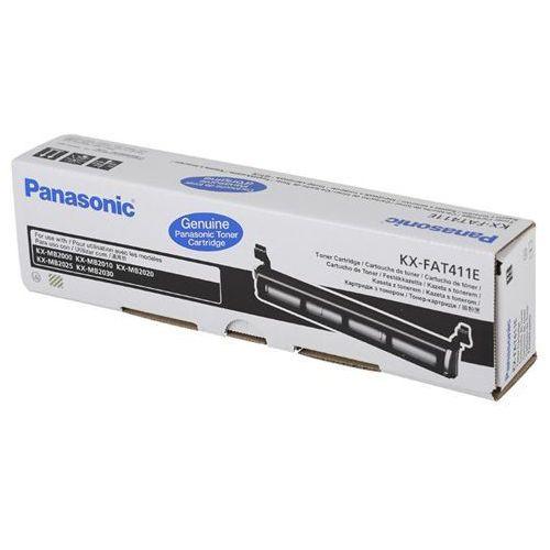 PANASONIC Toner KX-FAT411E do KX-MB2000/2010/2025/2030, czarny 2.000 stron