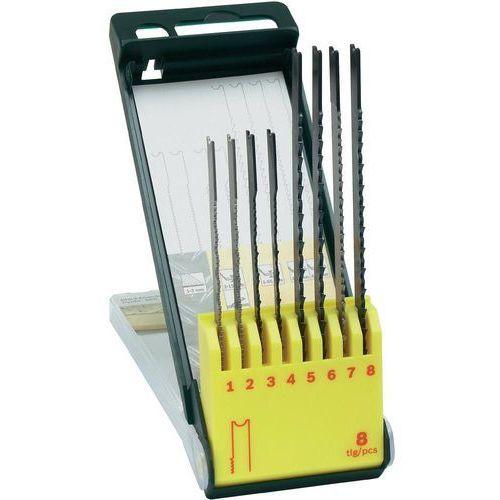 Zestaw brzeszczotów do wyrzynarki Bosch 0 601 858 001, typU, drewno/metal, 8 szt. (3165140415774)