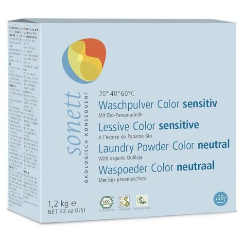Ekologiczny proszek do prania Kolor SENSITIV, Sonett, sn-D318