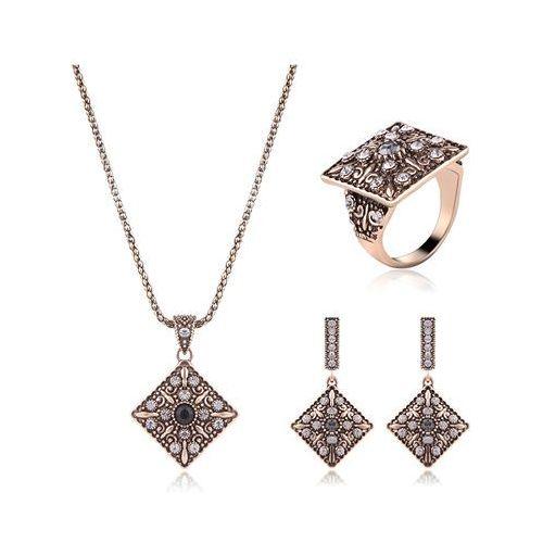 Cloe Komplet biżuterii atrakcyjny złoty - złoty, kategoria: komplety biżuterii