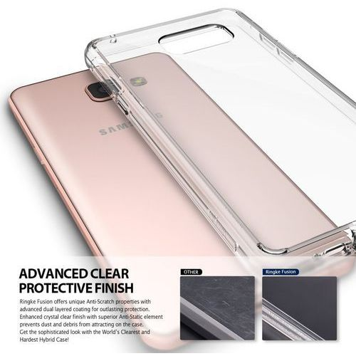 Obudowa Rearth | Etui Ringke Fusion Case + Folia ochronna | Samsung Galaxy A3 2016 | kolor Rose Gold - Rose Gold (8809478820859)