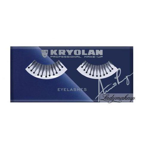 Kryolan - eyelashes - sztuczne rzęsy z kulkami - art. 9357