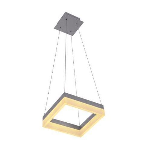 LAMPA wisząca RING 5838102 Spotlight kwadratowa OPRAWA zwis szklany LED 51W biały