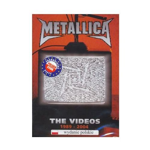 The Videos (Polska cena) (1989 - 2004) (DVD) - Metallica