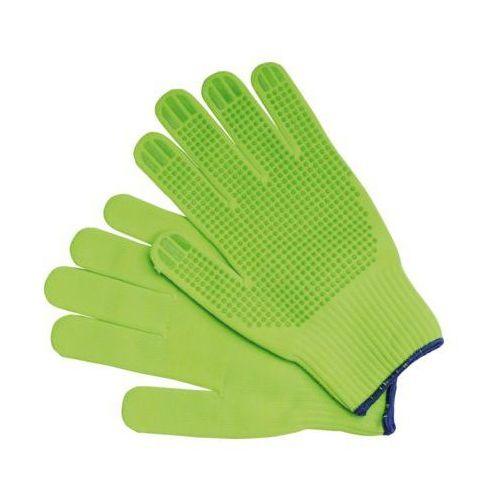 Vorel Rękawice robocze 74094 zielony (rozmiar 8) (5907718700619)
