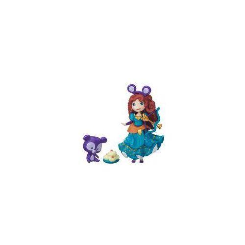 Mini Księżniczka z przyjacielem Disney Princess Hasbro (Merida) - produkt z kategorii- Pozostałe lalki i akcesoria