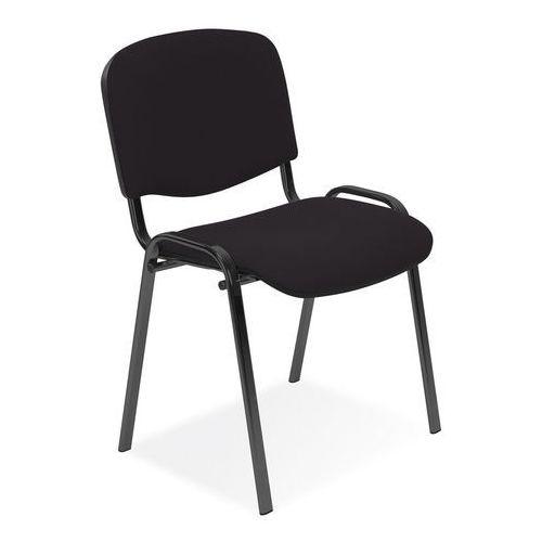 Krzesło biurowe konferencyjne Iso czarny NOWY STYL, kolor czarny