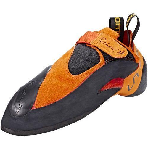 La Sportiva Python But wspinaczkowy pomarańczowy/czarny 41 2019 Buty wspinaczkowe wsuwane