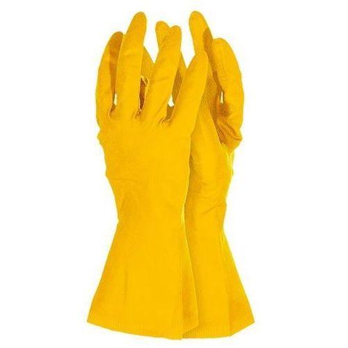 Rękawice rfrose gumowe flokowane