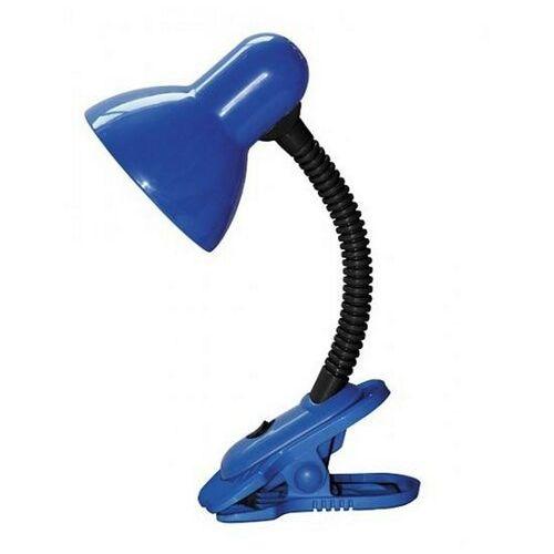 Lampa stołowa lampka biurkowa Rabalux Dennis 1x40W E27 niebieski/czarny 4260 (5998250342603)