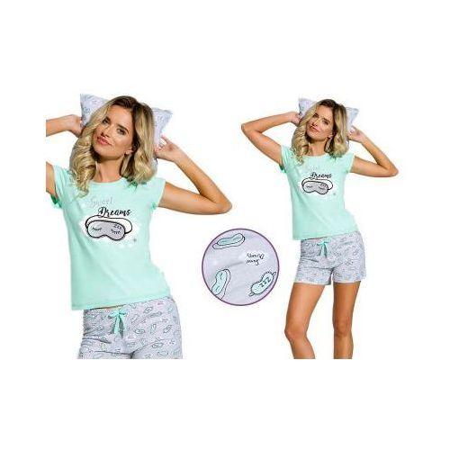Piżama damska KIRA: pistacja