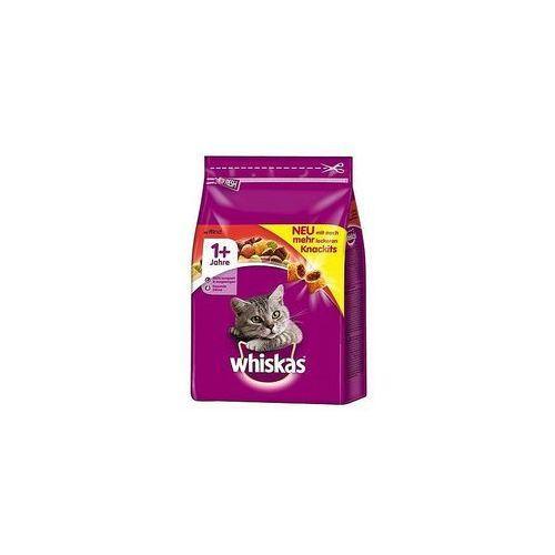 karma dla kotów 300g sucha z wołowiną i marchwią marki Whiskas