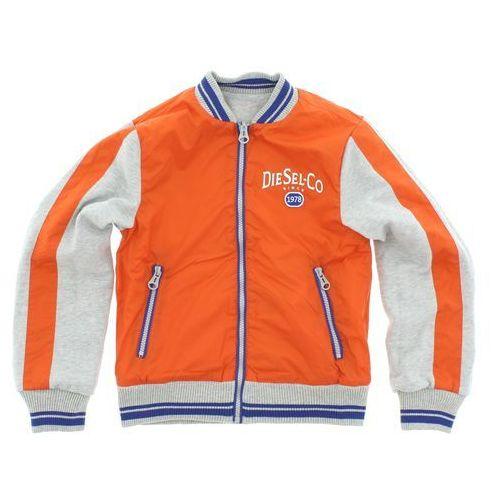 kurtka dziecięca szary pomarańczowy s wyprodukowany przez Diesel