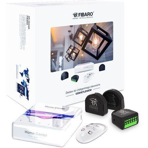 Fibaro zestaw inteligentnego sterowania oświetlenia: home center lite, double switch 2 x3, keyfob (5902701701420)