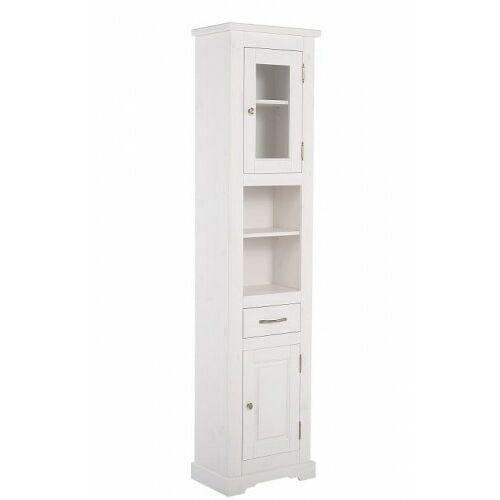 COMAD szafka wysoka Romantic white (słupek) ROMANTIC 800 (5907441291248)