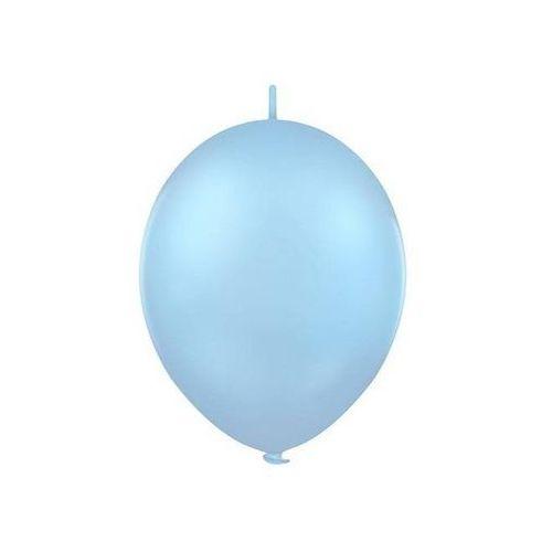 Balon lateksowy pastel błękit z łącznikiem 27 cm 1 szt. marki Twojestroje.pl