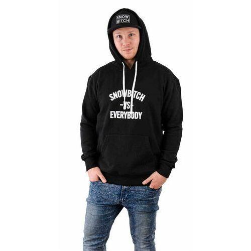Bluza - everybody hoody black (black) rozmiar: xxxl marki Snowbitch