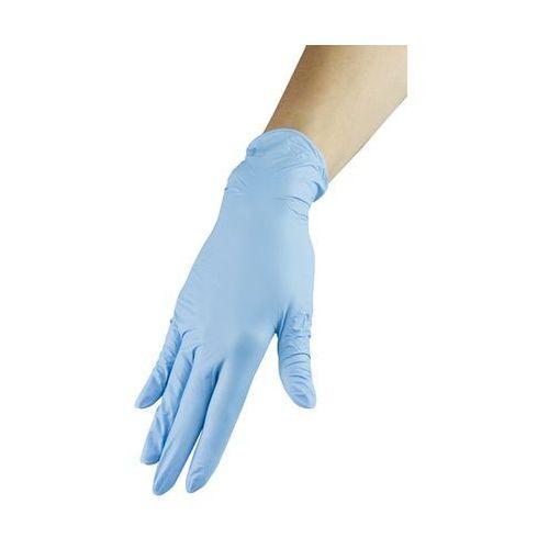Neonail Rękawiczki nitrylowe - niebieskie, rozmiar m (5903274008879)