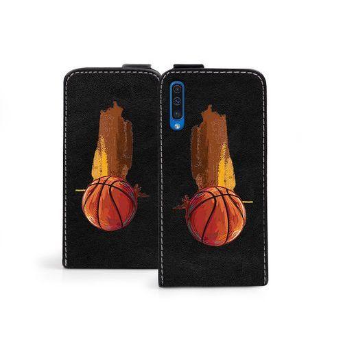 Samsung Galaxy A50 - etui na telefon Flip Fantastic - koszykówka, ETSM888FLFCEF031000