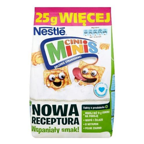 Nestle Płatki śniadaniowe nestlé cini minis 250 g