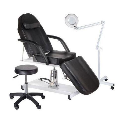 Fotel kosmetyczny + zestaw na start 210 czarny marki Activ