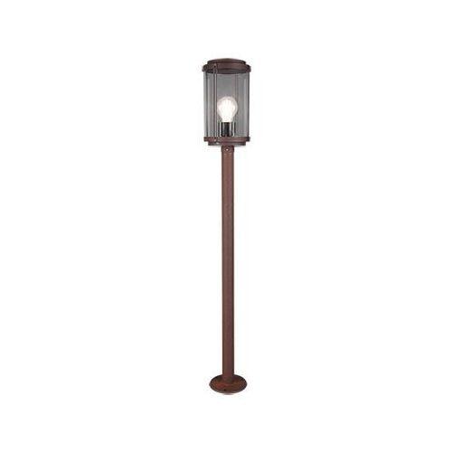 Trio tanaro 402360124 lampa stojąca zewnętrzna ogrodowa ip44 1x40w e27 miedziany (4017807453102)