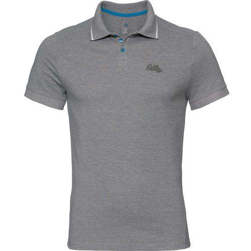 Odlo nikko koszulka polo steel grey melange (7613361169687)