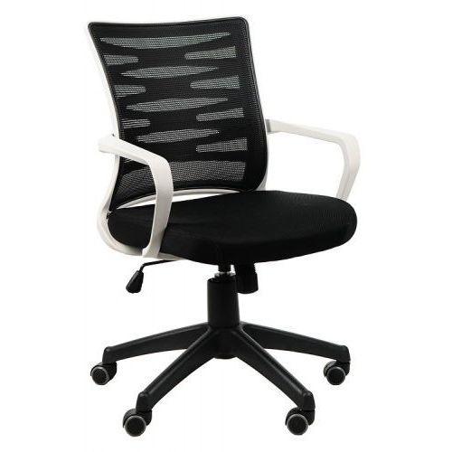 Krzesło biurowe obrotowe KB-2022 szary/CZARNY