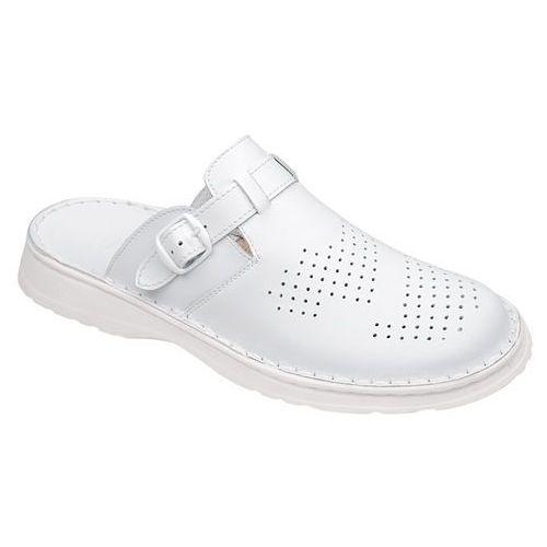 Klapki buty 951 białe - biały, Łukbut