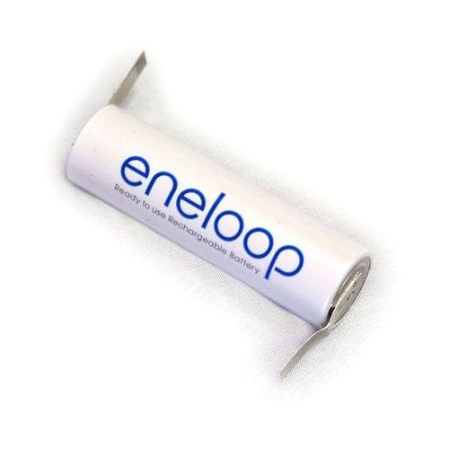 Panasonic 1 x eneloop r6/aa 2000mah z przygrzanymi blaszkami typ:u