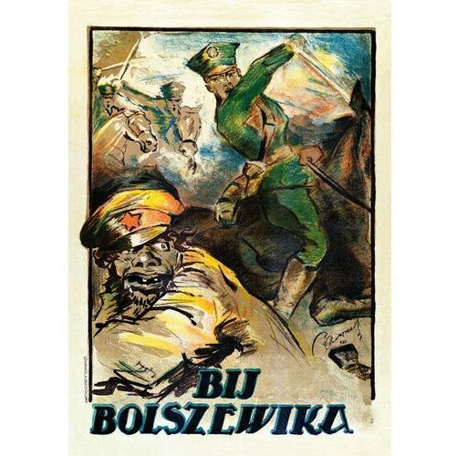 Plakat A3 - BIJ BOLSZEWIKA A3-GPlak1920-028