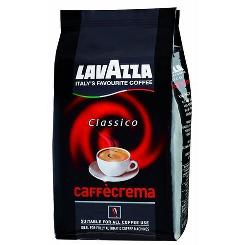 Lavazza Kawa włoska  caffecrema classico 1 kg ziarnista (8000070027411)