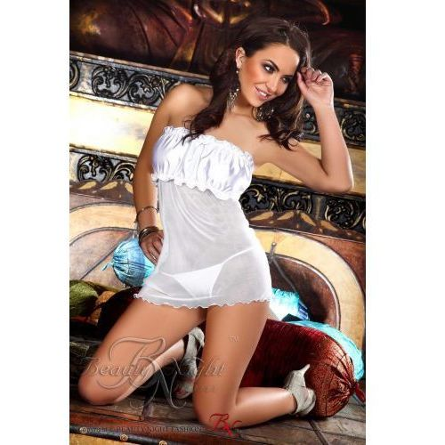 Beauty night Bella chemise white