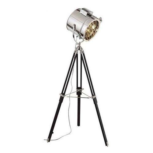 Sztalugowa lampa podłogowa movie 1224127 reflektorowa oprawa studyjna stojąca na trójnogu naświetlacz studio aluminium marki Spotlight