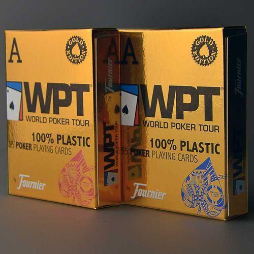 Karty do gry Fournier WPT 100% plastic