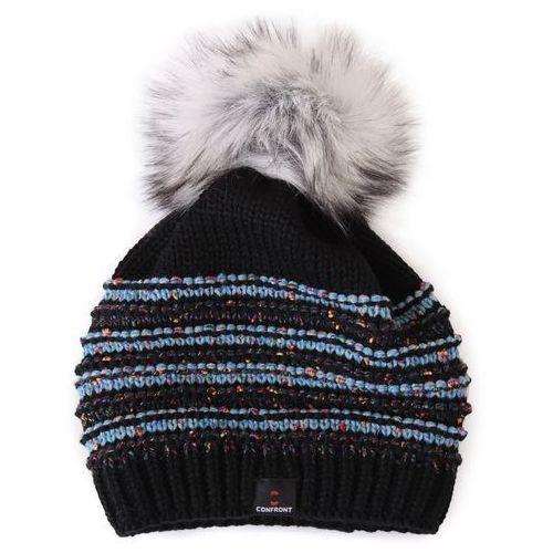 Confront  czapka zimowa inland black 110