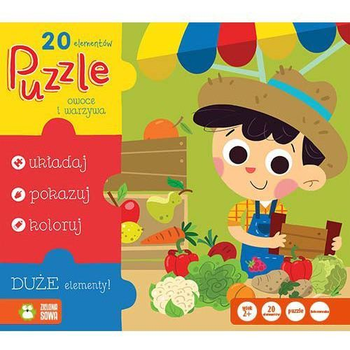 Puzzle Owoce i warzywa 20 (5901761117059)