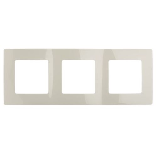 NILOE Ramka potrójna kremowa 665013 LEGRAND, kolor kremowy