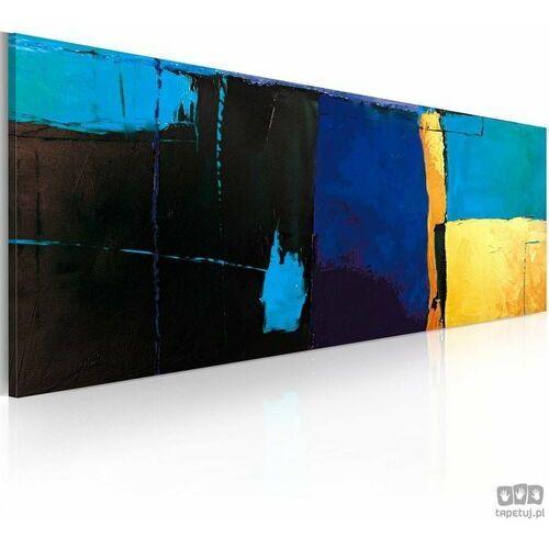 Obraz ręcznie malowany Fascynacja błękitem, A0-0101-19MK