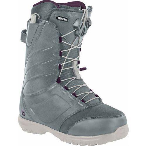 damskie buty snowboa NITRO - Cuda Tls Slate Grey - Purple (001) rozmiar: 42